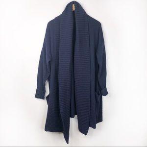 J. Crew Open Shawl-collar Cardigan Sweater